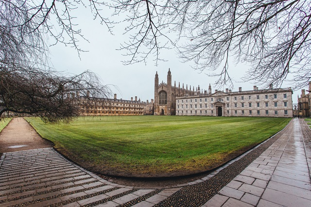 King's College panoramic view, Cambridge