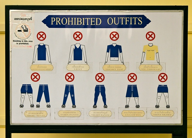 Cruise ships have dress codes